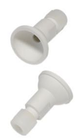 "Socket Glass Filled PTFE 28/12 to 3/8"" Compression Fitting"