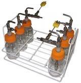 Method 30B Impinger Condenser Assembly