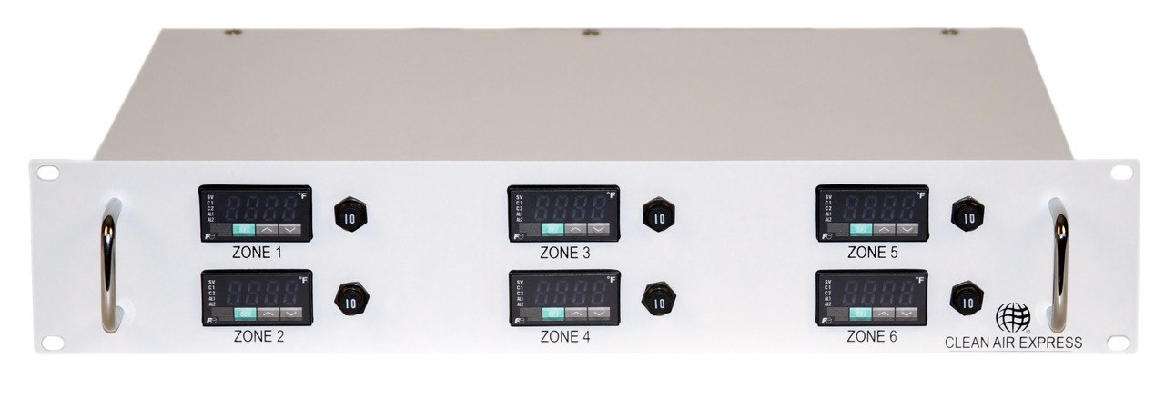 Multiple Zone Rack Mount Temperature Controller