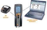 Testo 340 Portable Flue Gas Analyzer