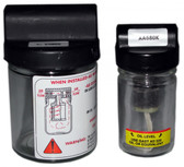 Small Oil Jar and Large Exhaust Jar Assembly