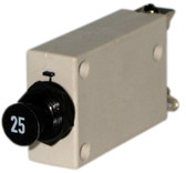 Push/Pull Panel Mount Circuit Breaker 25 amp