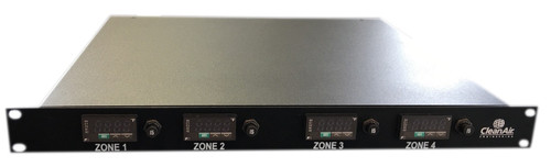 4 Zone Rack Mount Temperature Controller 1 U