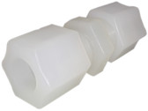 "PVDF 1/2"" Straight Tube Union"
