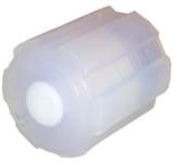 PFA 1/4 Cap Plug Front