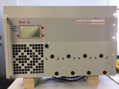 MET-80 Pre-Owned Gas Conditioning Module Front View