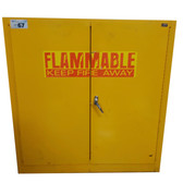 Pre-Owned Edsal Flammable Safety Cabinet Door Closed
