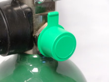 This cap fits over the CGA 540 Oxygen Valve
