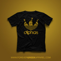 ALPHAS  (GOLD INK)