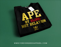 APE BY BLOOD, NOT RELATION