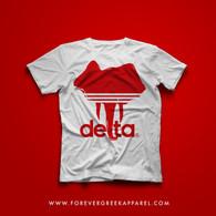 DELTAS  WHITE TEE