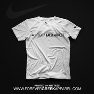 NIKE FALSE ARREST WHITE TEE