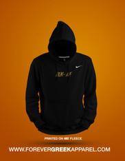BLK/AF GOLD  NIKE™ HOODIE