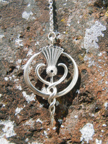 Findhorn Flower Essences Small Pendulums are made to order in both silver and gold