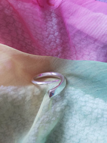 Life Force Silver Spiral Ring