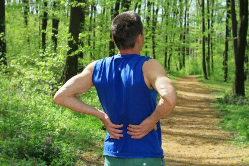 Back pain when running