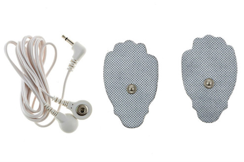 Extra set of regular sized tens unit pads and wires that allow the user to run 4 pads at the same time.  Specify model type when adding to the cart.