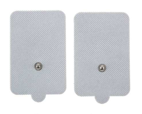 Extra large electrode pads that are compatible with all of Utopia Gear's portable TENS/EMS units.