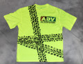 ADV - Leave the Pavement Behind Front - Hi Vis Yellow