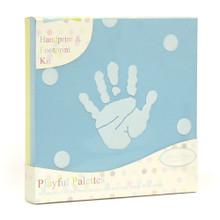 Playful Palettes Canvas Frame For Handprint & Footprint Keepsake