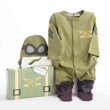Baby Pilot Two-Piece Layette Set