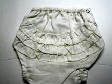 Girls Ruffled Bum Diaper Cover