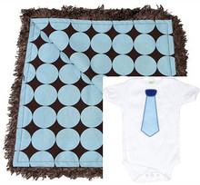 Blue Polkadot Gift Set