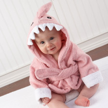 """Let the Fin Begin""  Shark Robe"