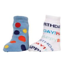 1st Birthday Boy Socks