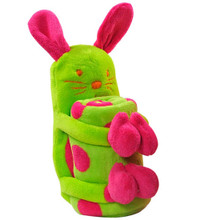 Bunny Rabbit Plush And Blanket Gift Set
