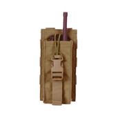 Protech TP21A Universal Radio Pouch with Bungee Closure