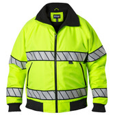 Blauer Hi-Vis Fleece Lined Bomber | 6113