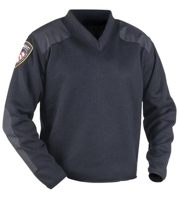 Blauer Fleece-Lined V-Neck Sweater | Police and Duty Uniforms