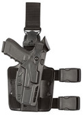 Safariland Model 7005 7TS SLS Tactical Holster w/ Light w/ Quick Release Leg Strap