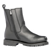Ridge MC206 All Leather Side Zip Boot
