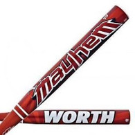 Worth ASA Mayhem Slow Pitch Softball Bat SBMTDA
