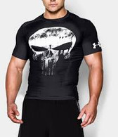 Under Armour Mens' Alter Ego Compression Punisher Shirt