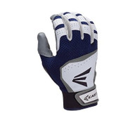 Easton HS VRS White/Royal Batting Gloves