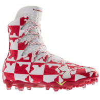 Under Armour Highlight MC Lax Red Lacrosse Cleats