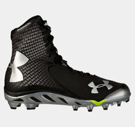Under Armour Men's UA Spine™ Brawler Football Cleats Black