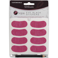 Wilson Hope Pink Eye Black Stickers