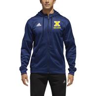 Xaverian HS Adidas Team Issue Full Zip - CC