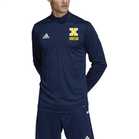 Xaverian HS Adidas Team 19 Long Sleeve 1/4 Zip - Wrestling