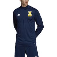 Xaverian HS Adidas Team 19 Long Sleeve 1/4 Zip - Hockey