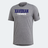 Xaverian HS Adidas Team Grey Shortsleeve - Tennis