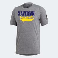 Xaverian HS Adidas Team Script Shortsleeve - Baseball
