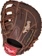 Rawlings Heart of the Hide Solid Core First Base Baseball Mitt 12.50 inch PROFBSC-RH