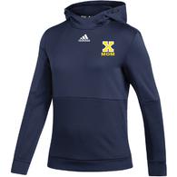 Xaverian HS Adidas Team Issue Hoodie (GW) emb - MOM 2021