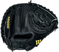 """Wilson A2403 BBM1BSS Baseball Catchers Mitt 33.50"""" WTA2403BBM1SS"""