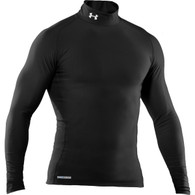 Under Armour Coldgear EVO Compression Mock - BLACK